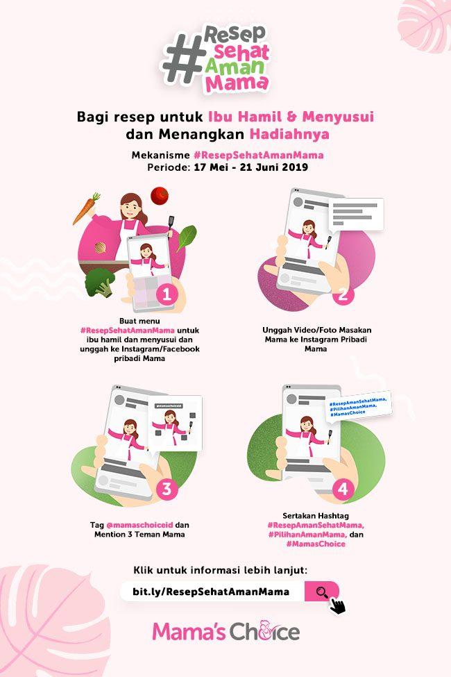 Resep Sehat Aman Mama dari Mama's Choice Indonesia