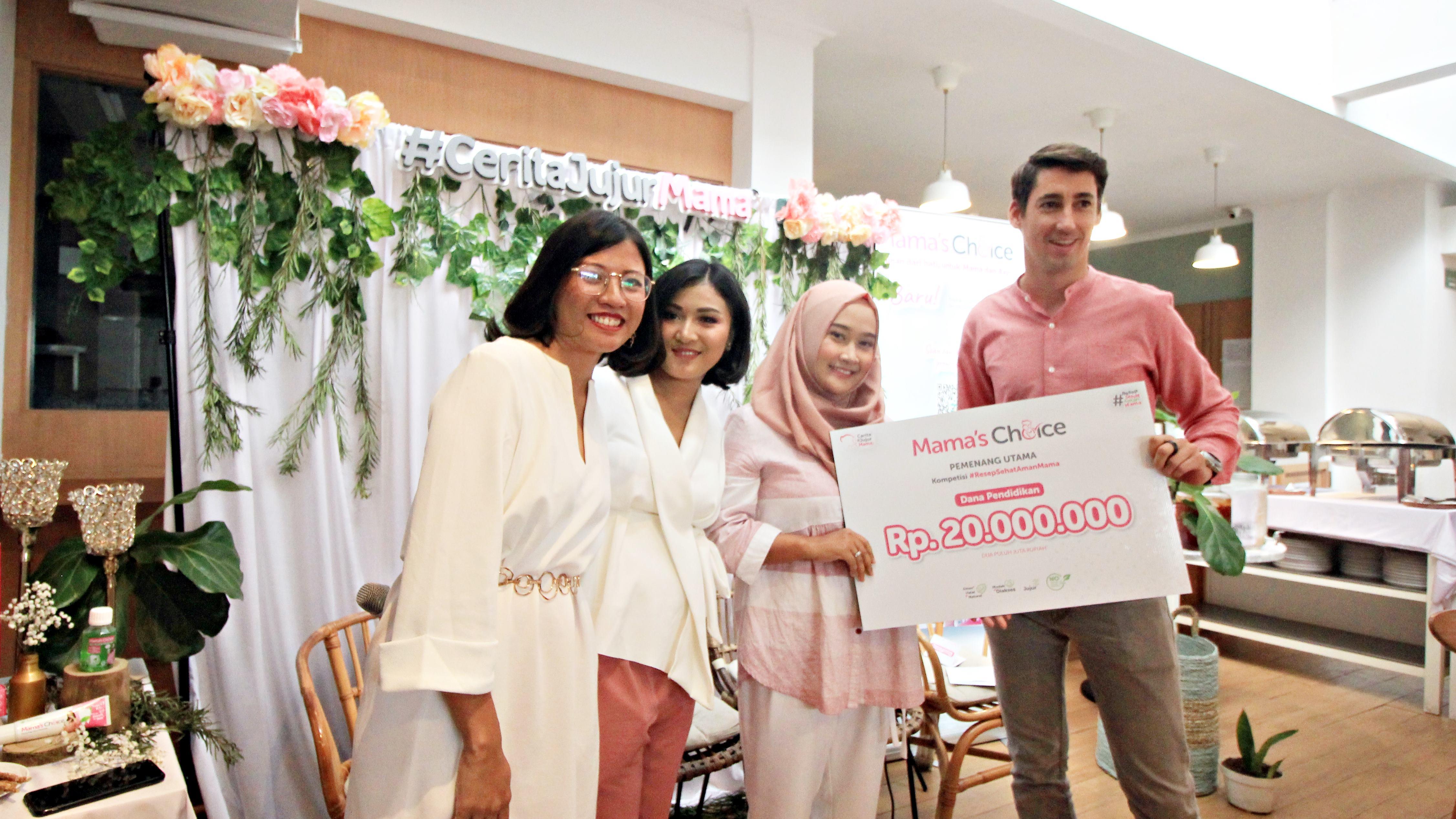 Kuis berhadiah 20 juta rupiah dari Mama's Choice
