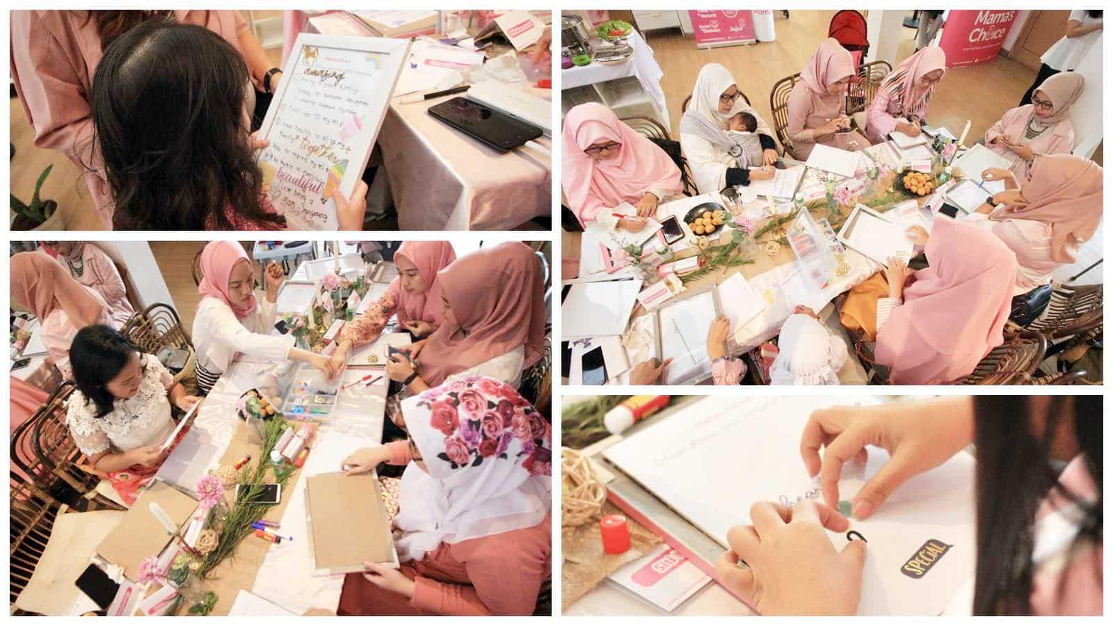 workshop dengan para Mama