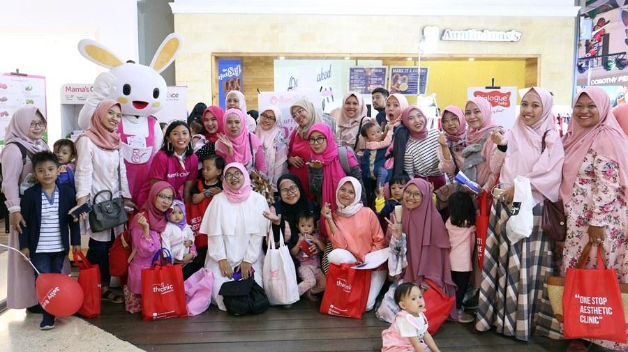 Booth pameran Mama's Choice di Bandung