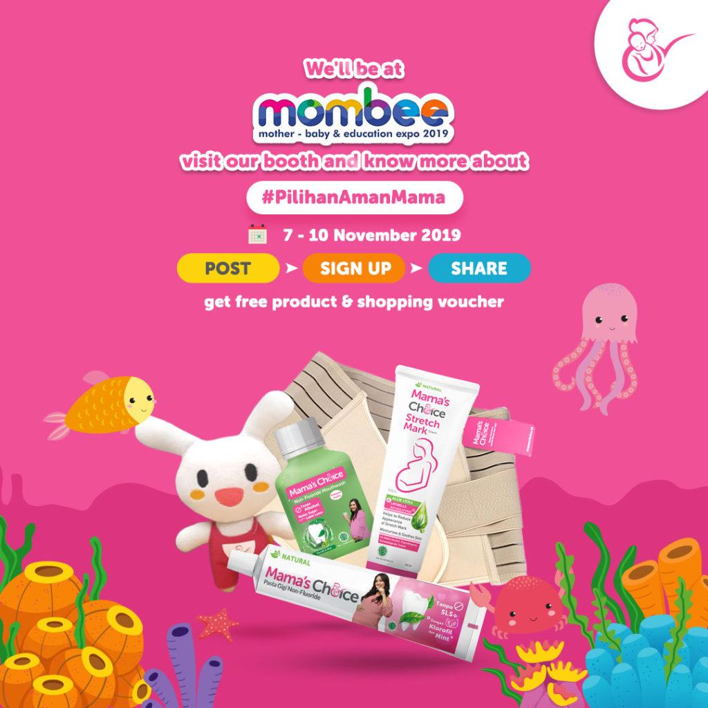 Mama's Choice di Mombee Fair Medan