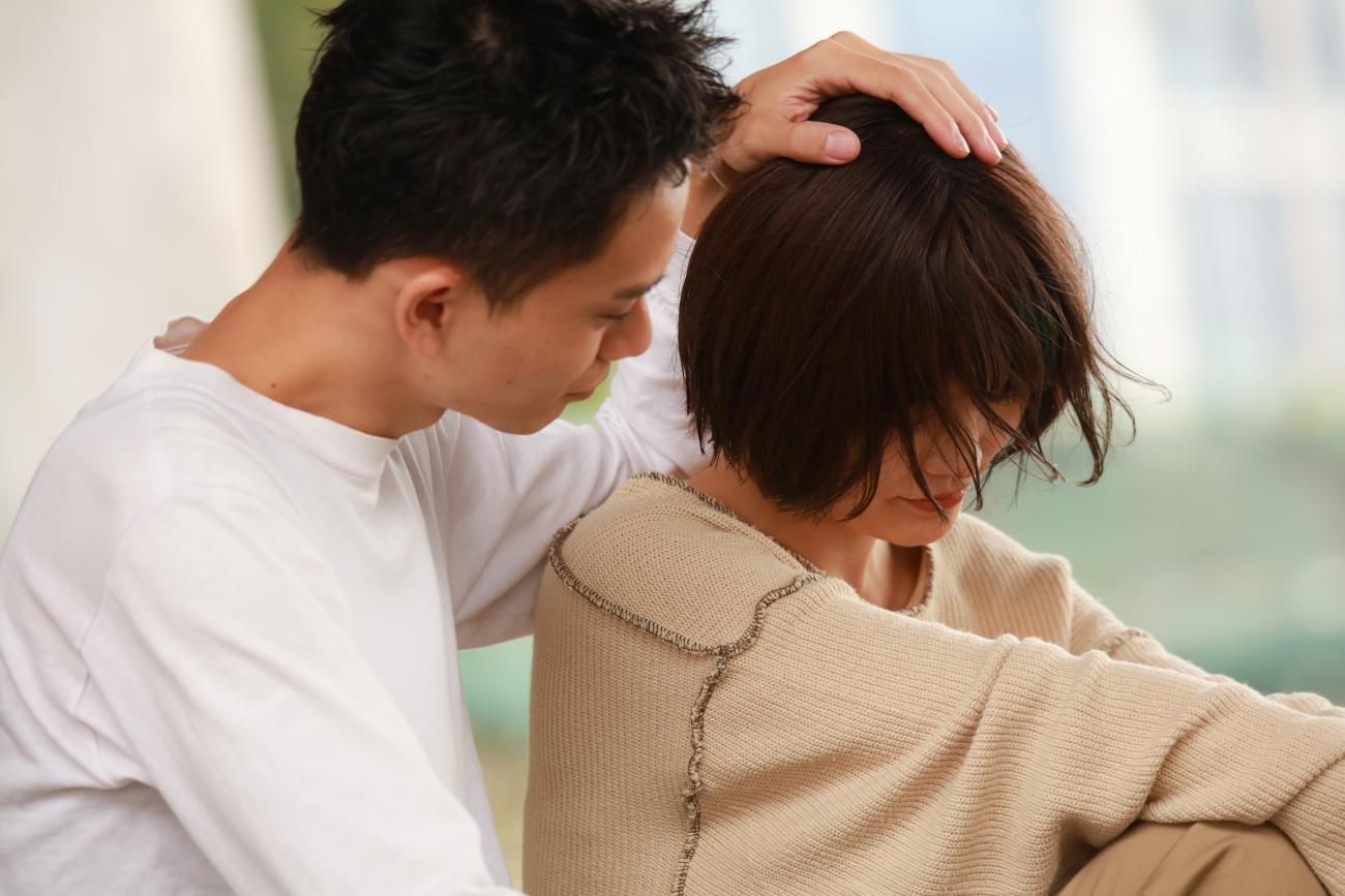 suami memberikan wejangan