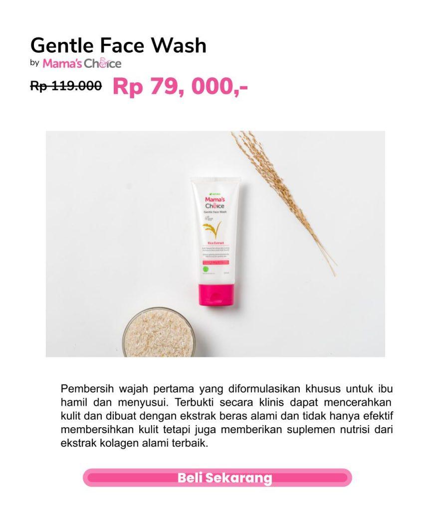 sabun muka untuk ibu hamil - Mama's Choice