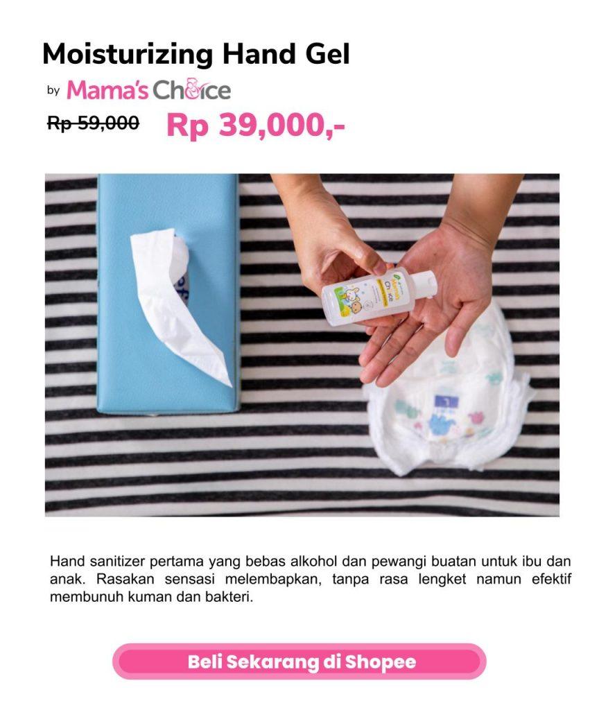 Hand Sanitizer untuk Anak - Mama's Choice