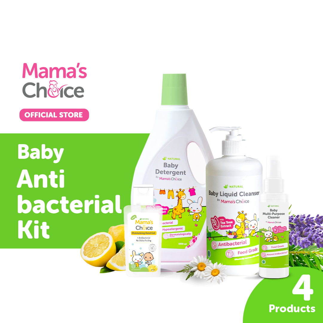 Promo 11.11 Mama's Choice Baby Antibacterial Kit
