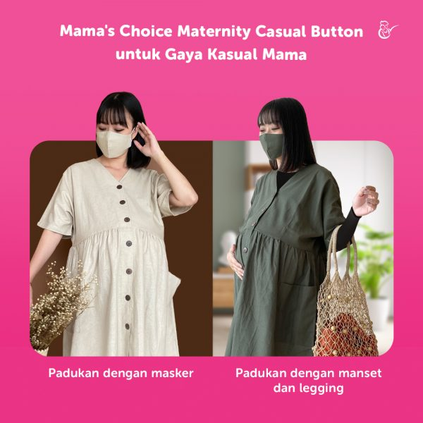dress ibu hamil menyusui yang modis dan nyaman