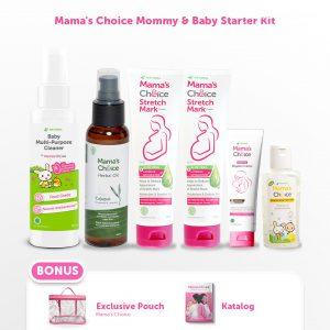 perlengkapan ibu dan bayi