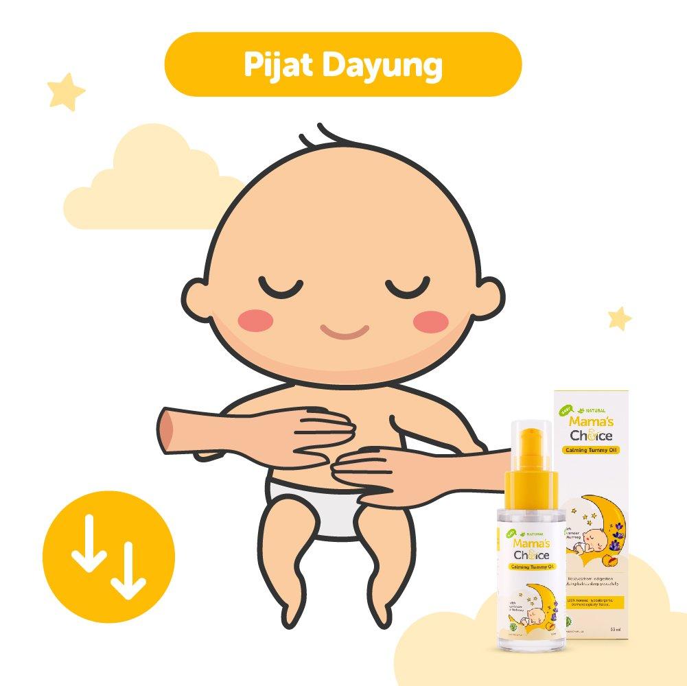 Pijat dayung untuk bayi Kolik