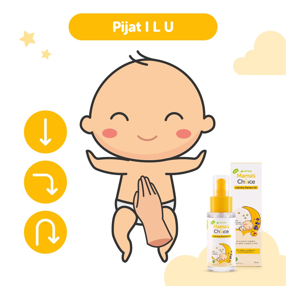 cara memijat bayi kolik ILU