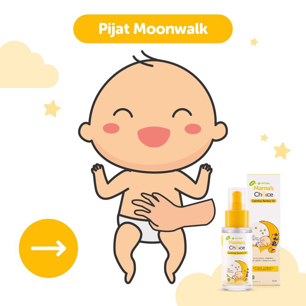 cara memijat bayi kolik