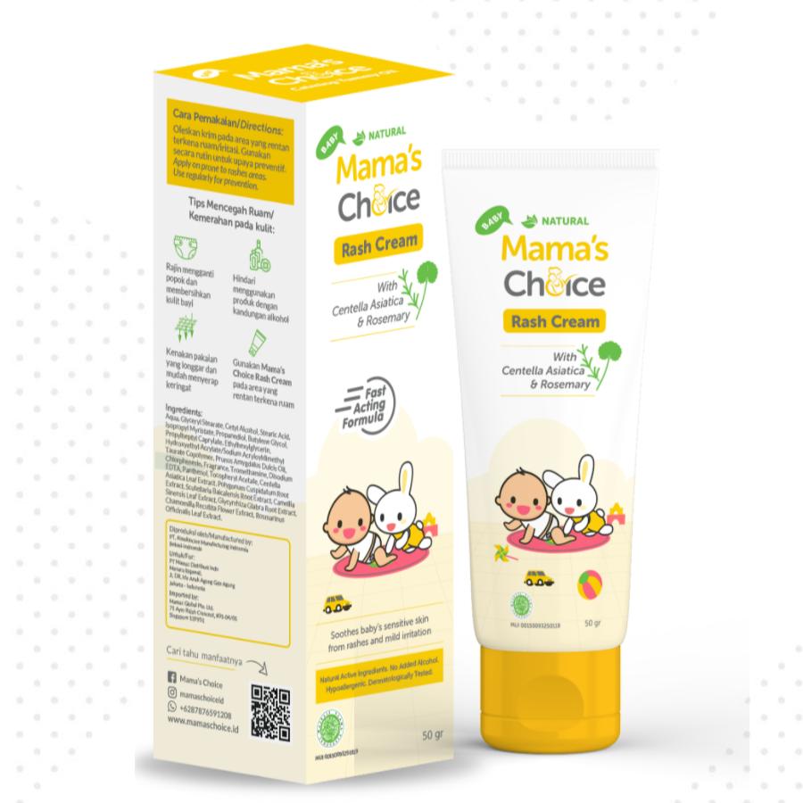 Mama's Choice Baby Rash Cream