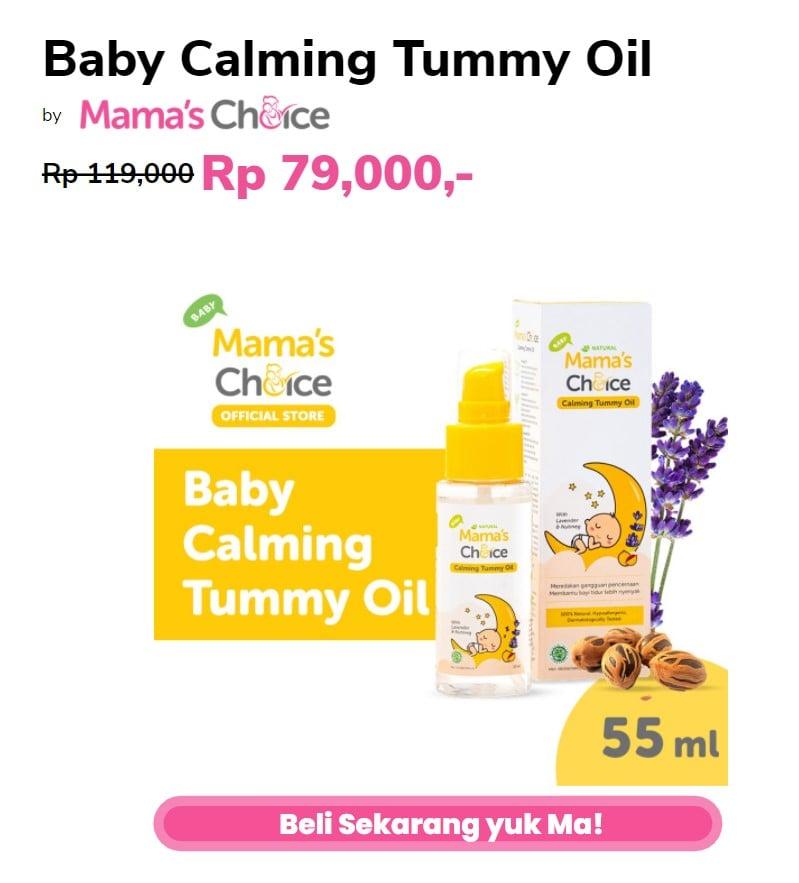 minyak untuk perut kembung bayi