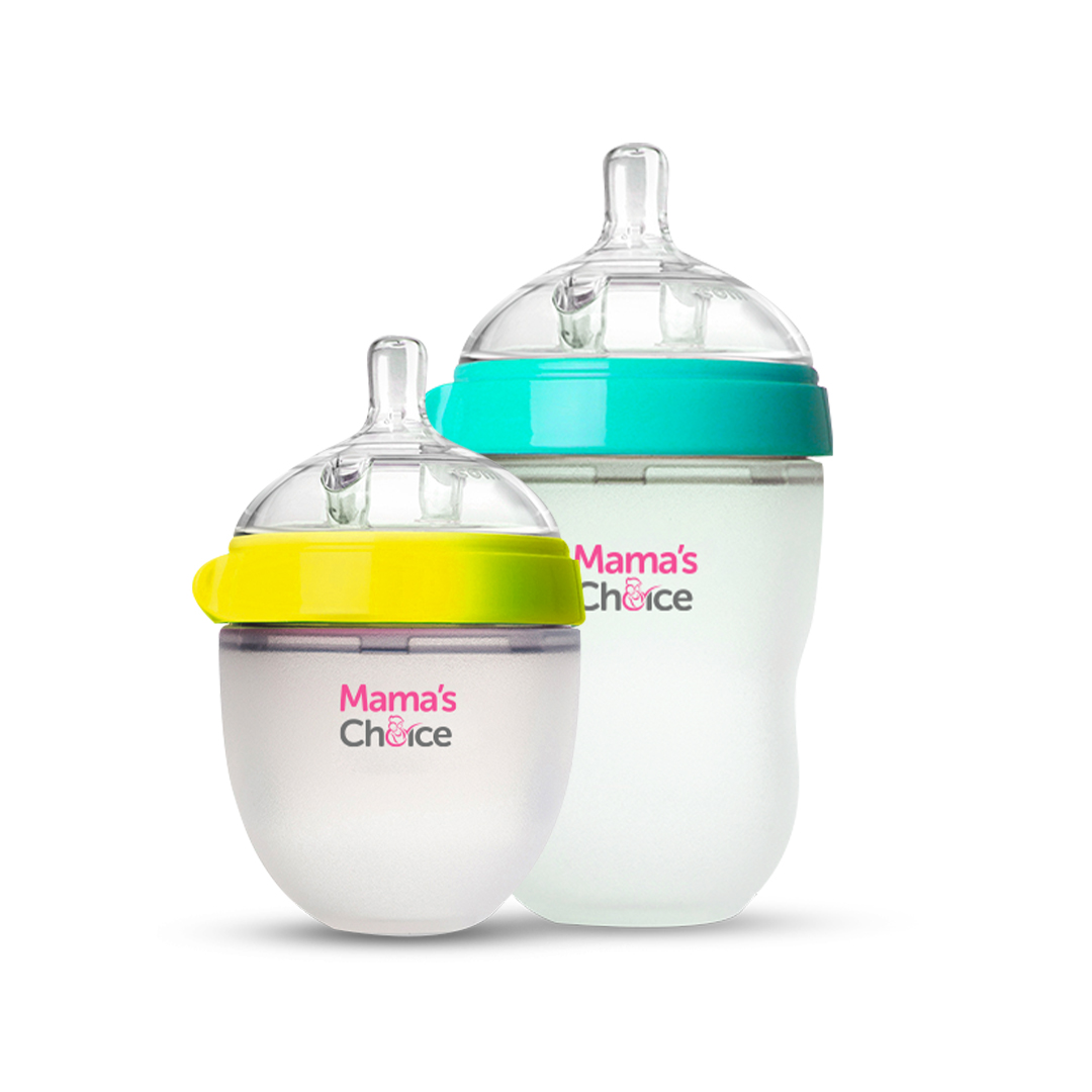 botol dot susu bayi anti kolik, Mama's Choice Anti Colic Baby Bottle