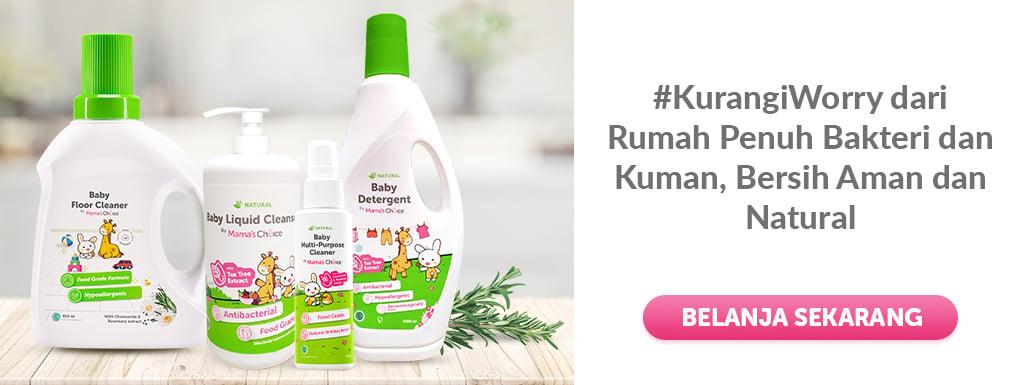 sabun cuci cairan pembersih rumah aman untuk anak dan bayi