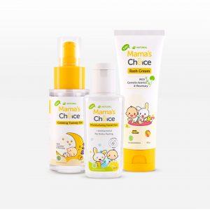 Mama's Choice Baby Treatment Series, paket perawatan bayi yang aman dan Halal