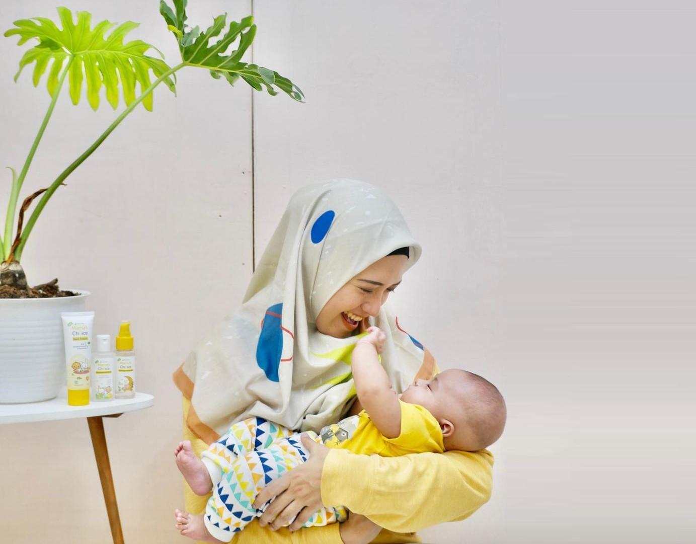 Kami mendukung perjalanan setiap ibu, seperti Mama @adithyaputri