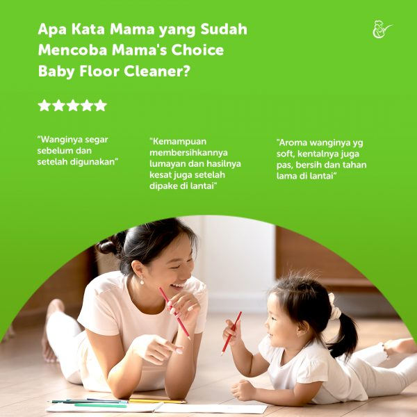 testimoni review Mama's Choice Baby Floor Cleaner