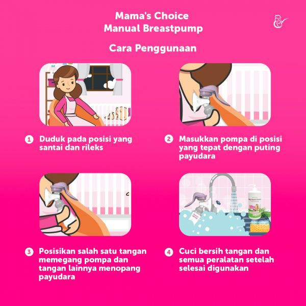 pompa asi manual murah terbaik BPA free mama's choice