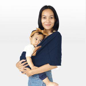 Jual Geos gendongan kaos Baby Carrier 2in1 dengan Kantong