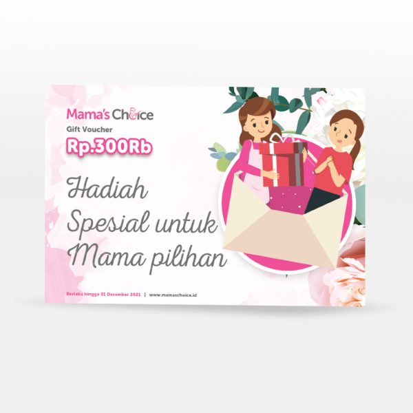 jual voucher belanja Mama's Choice hadiah lahiran bridal shower