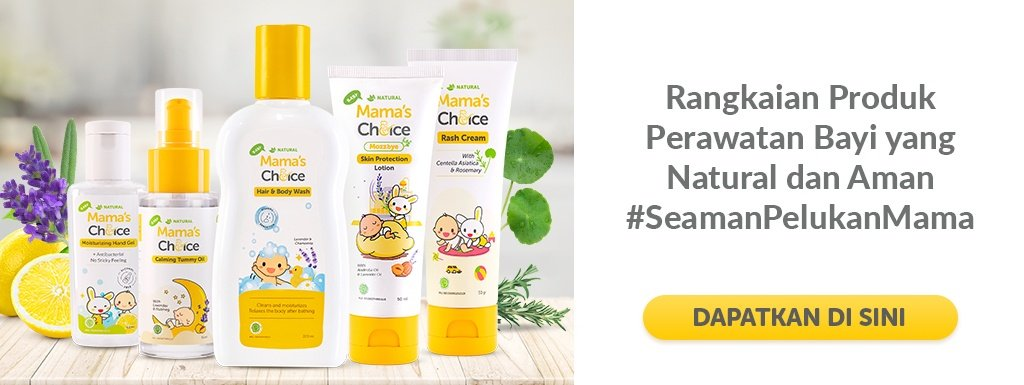 Mama's Choice Baby Hair and Body Wash, sampo bayi
