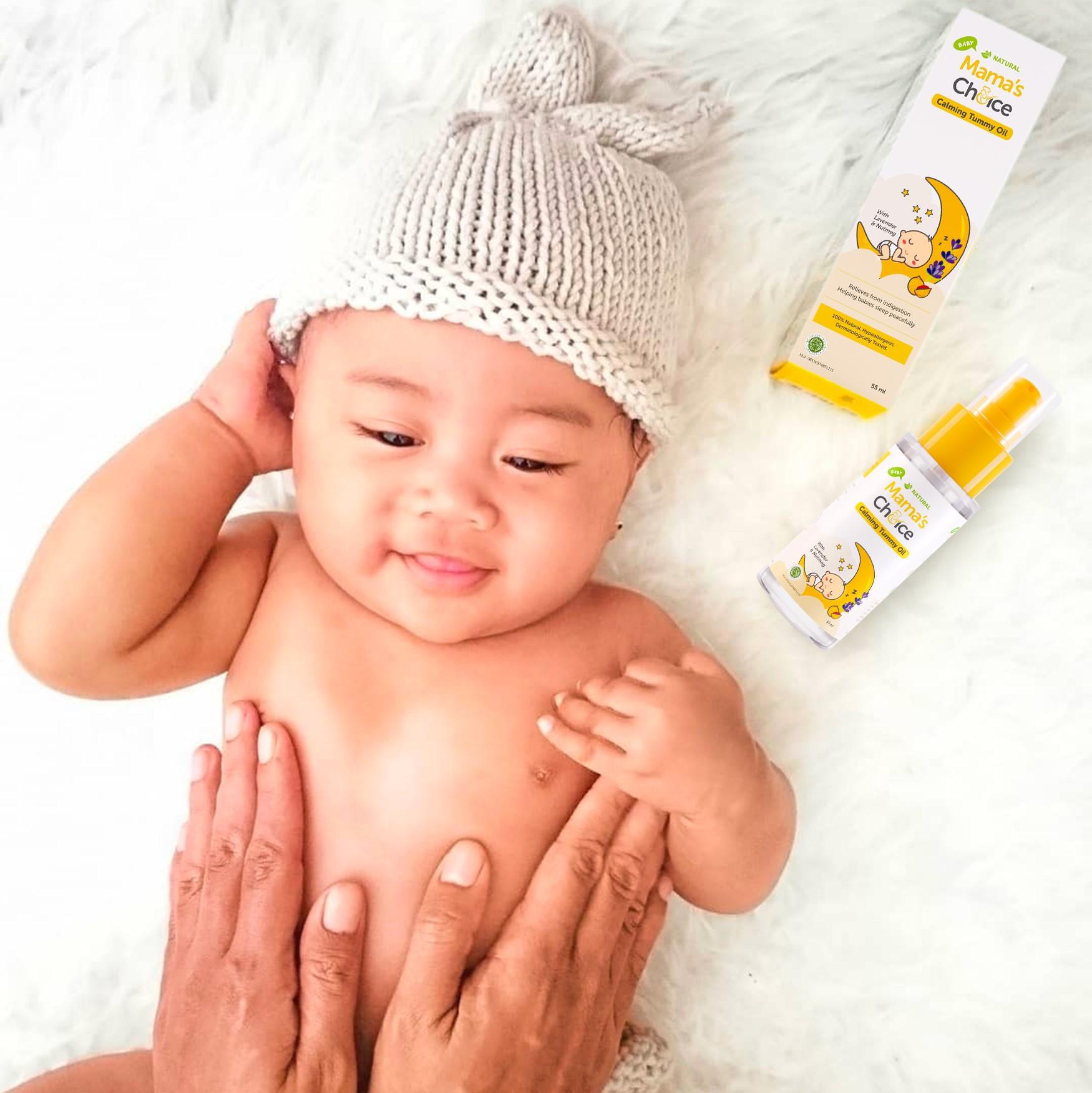 jam tidur bayi, Mama's Choice Baby Calming Tummy Oil, waktu tidur bayi, jam tidur bayi baru lahir