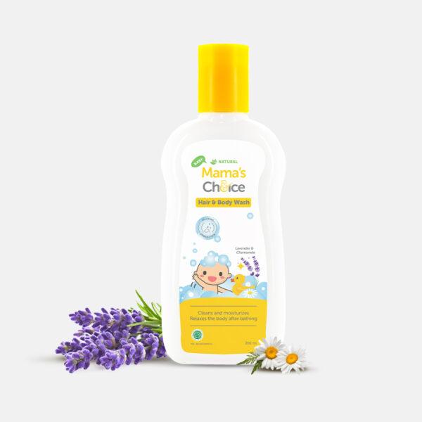 Mama's Choice Baby Hair and Body Wash, sabun mandi dan shampo bayi 2in1 bebas sulfat