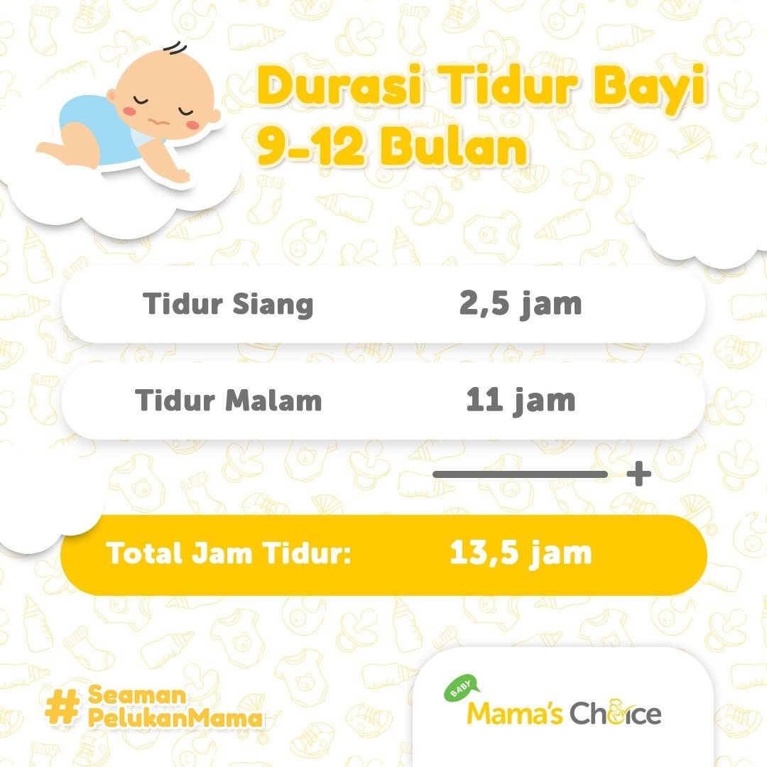 jam tidur bayi, waktu tidur bayi, jam tidur bayi baru lahir