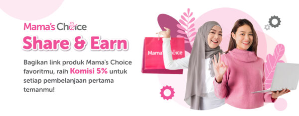 program referral Mama's Choice Share & Earns