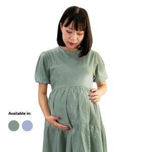 Ruffle Dress Mama's Choice maternity