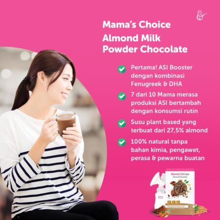 Booster ASI Mama's Choice, Susu Almond Alami